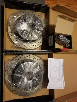 2003-2005 Infiniti G35 Sedan Drilled/Slotted Brake Rotors and Pad (rear only) for Sale in Lithonia, GA