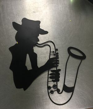 Saxophone Decoration for Sale in Matawan, NJ