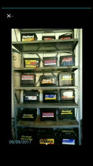 Seminew car batteries not rebuilt only brands SOLO MARCAS ORIGINALES for Sale in Carson, CA