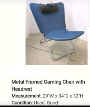 Lg adult game chair. for Sale in Caro, MI