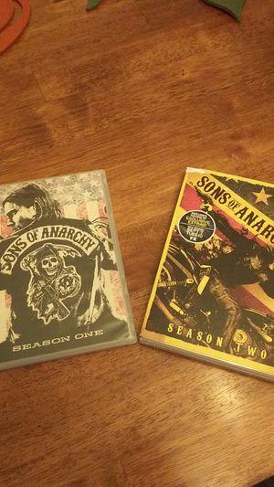Sons of Anarchy Season 1 & 2 for Sale in San Antonio, TX