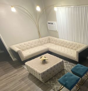 Sectional Couch & Bar style Table for Sale in Colton, CA