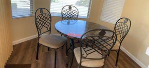 Kitchen table with four chairs for Sale in Phoenix, AZ
