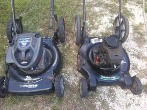 2 LAWN MOWERS NOT Working FOR PARTS OR repair for Sale in Tampa, FL