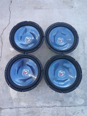 4 Kenwood 12s for Sale in Tracy, CA