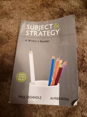 Subject and strategy textbook for Sale in Saint Robert, MO