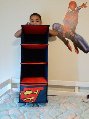 Superman Closet Organizer for Sale in Puyallup, WA