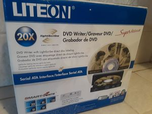 Never used DVD Writer 20X Lite On for Sale in Decatur, GA