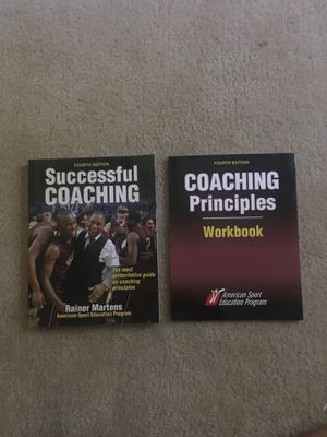 Successful Coaching college textbook with workbook. for Sale in Fort Mill, SC