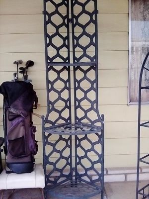 Tall metal shelves for Sale in Hemet, CA