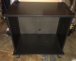 FREE black TV stand for Sale in Tacoma, WA
