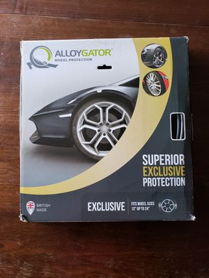 Alloygator Wheel Protection Exclusive, Black Rim Protection for Sale in San Diego, CA