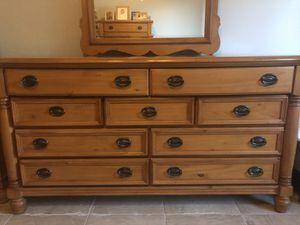 Wood bedroom set for sale for Sale in Hialeah, FL