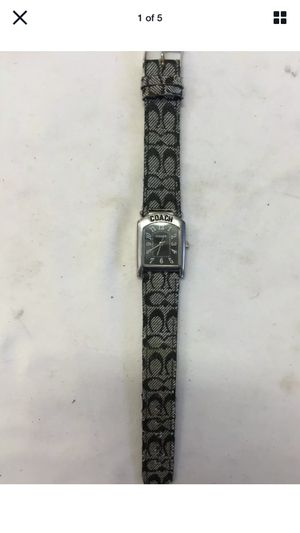 Coach watch {offer up} for Sale in Duluth, GA