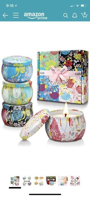 Brand new scented candle set for Sale in San Francisco, CA
