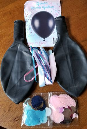 Gender reveal balloon kit for Sale in Oroville, CA