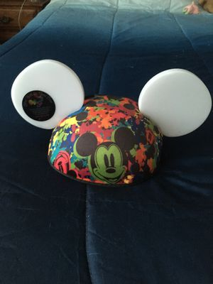Disney World of color synchronized light up ears. Batteries required (not included) These ears synchronize and light up to the World of color show at for Sale in San Bernardino, CA