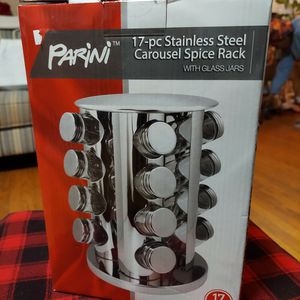 Stainless Steel Carousel Spices Rack for Sale in Washington, DC