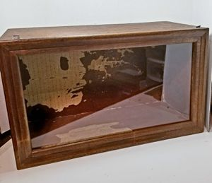 Dollhouse Miniature Vintage Spooky Haunted Room Box Wood Glass Front for Sale in Rancho Santa Margarita, CA