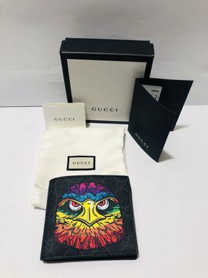 GUCCI Men's Wallet Supreme Eagle Head for Sale in Miami, FL
