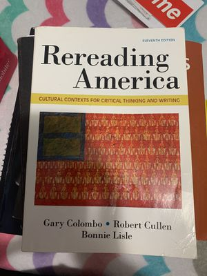 Rereading America 11th edition for Sale in Los Angeles, CA