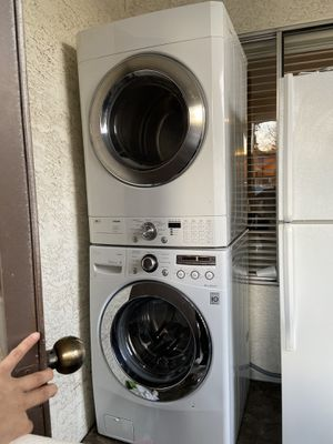Dryer Washer and Fridge for Sale in Glendale, AZ