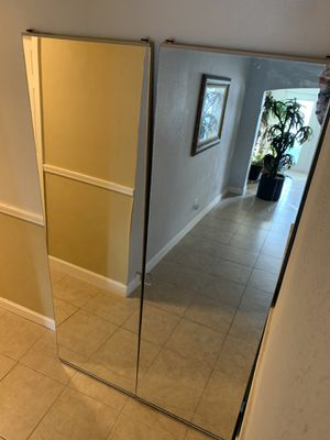 Glass sliding closet doors for Sale in Orlando, FL