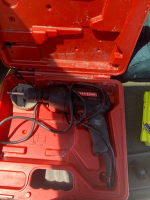 Craftsman drill 3.0 amp for Sale in Port St. Lucie, FL