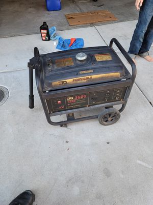 Portable generator 3200 to 3600 $220 obo! for Sale in San Diego, CA