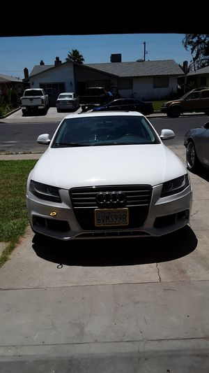 Audi A4 Quattro 2009 120000 miles runs great needs somebody work for Sale in Winton, CA