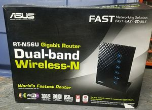 Asus RT-N56U 300 mbps Dual Band Router for Sale in Long Beach, CA