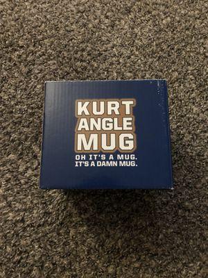 WWE Loot Crate Slam Crate Exclusive Kurt Angle Mug Brand New for Sale in Fresno, CA