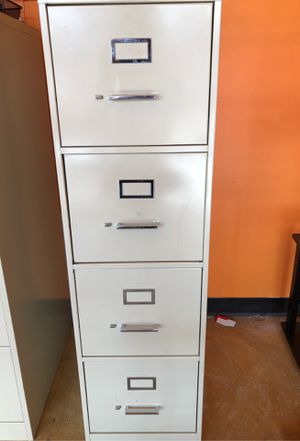 Four drawer file cabinet for Sale in Bloomfield Hills, MI