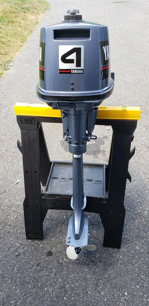 1988 Yamaha 4hp long shift outboard for Sale in Ludlow, MA