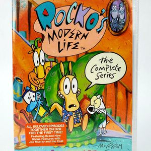 Rocko's Modern Life The Complete Series (DVD, 2013, 8-Disc Set) Nickelodeon NEW for Sale in Trenton, NJ