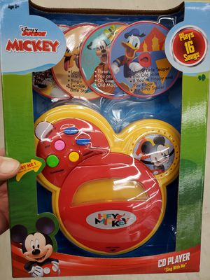 Mickey Mouse Sing with Me CD Player for Sale in Madera, CA