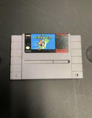 Super Nintendo super Mario world for Sale in Coral Gables, FL