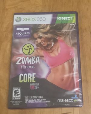 Xbox 360 Kinect Zumba fitness Core for Sale in West Covina, CA