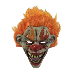 Evil Fire Clown Halloween Mask for Sale in Parkville, MO