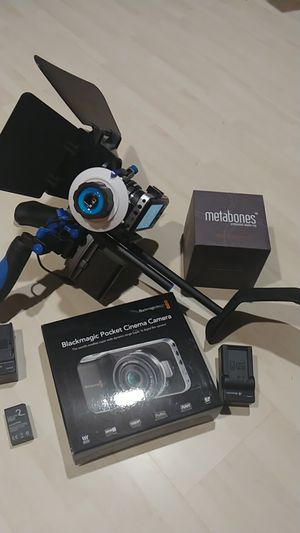 Bmpcc Blackmagic Pocket Cinema Camera for Sale in City of Industry, CA