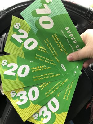 $110 Old Navy Super cash for Sale in Virginia Beach, VA