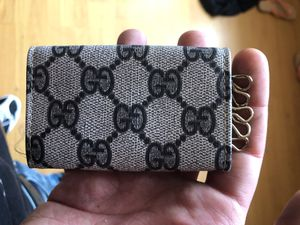 Vintage Gucci Key Case / key chain / card holder / mini wallet for Sale in Revere, MA