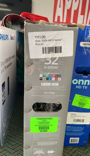 "Brand New Vizio 32"" D-Series TV! W/ Warranty open box VFWX for Sale in Anaheim, CA"