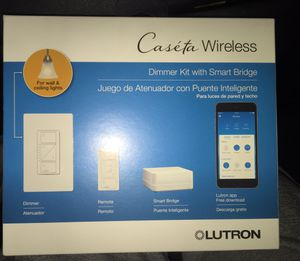 LUTRON DIMMER KIT WITH SMART BRIDGE!! BRAND NEW!!! for Sale in Saint Charles, MO