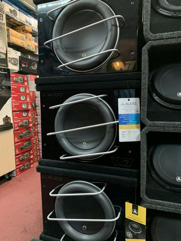 Jl audio pro wedge on sale today message us for the best deals in LA today