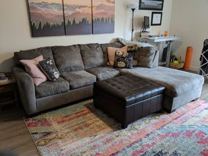 Grey Couch for Sale in Portland, OR