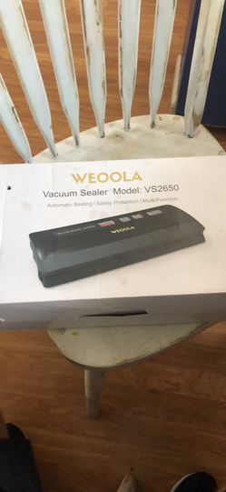 Weoola vacuum sealer for food (great for storage) for Sale in San Mateo,  CA