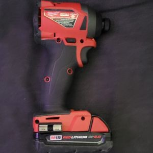 Milwaukee Fule 18v Impact Driver And 2.0 Battery for Sale in Garden Grove, CA