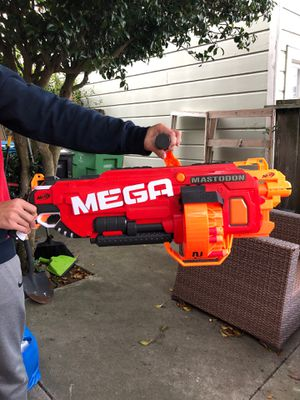 MEGA Electronic Nerf gun (bullets included) for Sale in San Francisco, CA