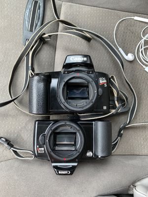 Canon EOS rebel XS and EOS rebel S FILM CAMERAS for Sale in Chandler, AZ